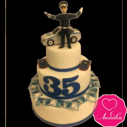 Торт на день рождения сотруднику ГИБДД №2118