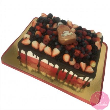 Торт на юбилей хеннесси №2728
