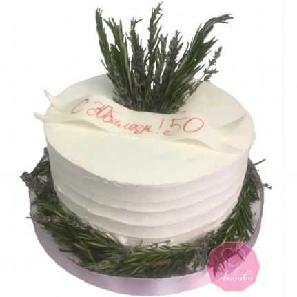 Торт на Юбилей 50 №2786