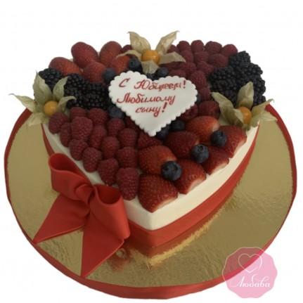 Торт сердце №2821