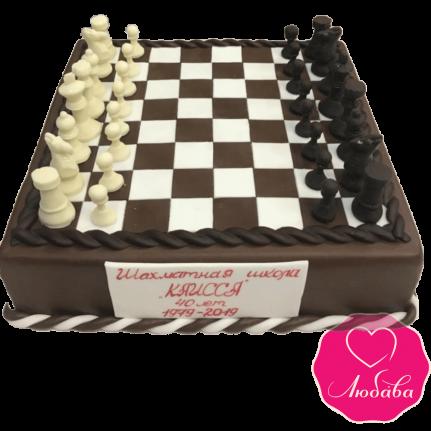 Торт на день рождения шахматы №2136
