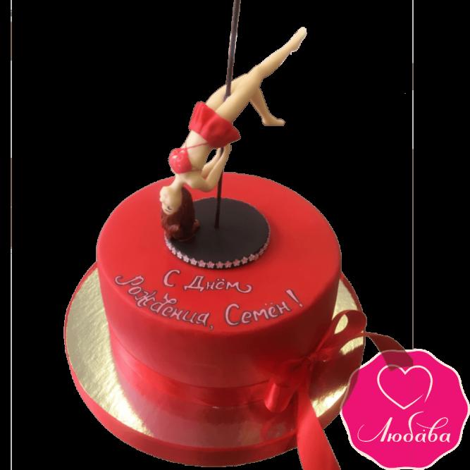 Торт на день рождения стриптиз №2162