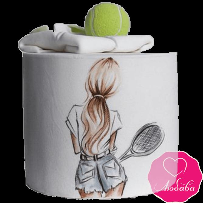 Торт на день рождения теннисистка №2232