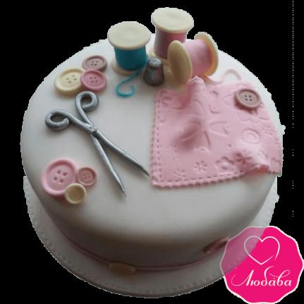 Торт на день рождения дизайнеру одежды №2296