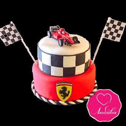 Торт на день рождения формула 1 №2319