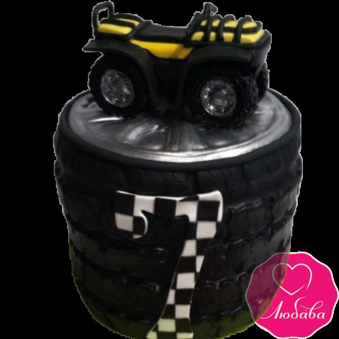 Торт на день рождения квадроцикл №2321