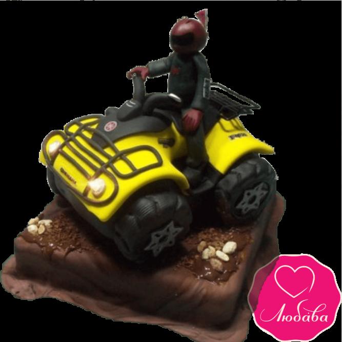 Торт на день рождения с квадроциклом №2322