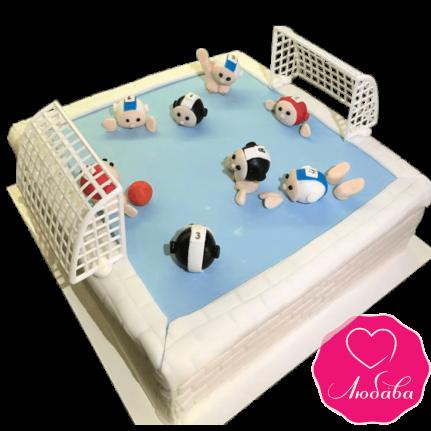 Торт на день рождения водное поло №2339