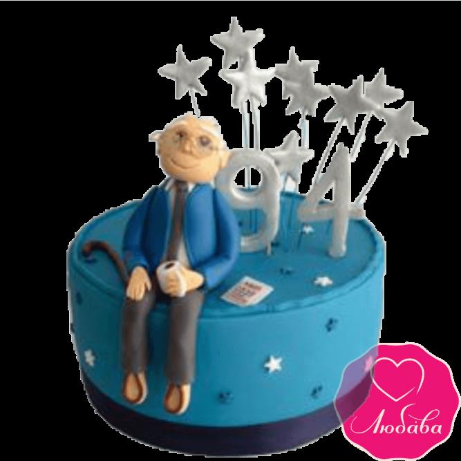 Торт на день рождения дедушке №2343