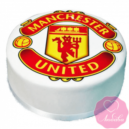 Торт на день рождения манчестер юнайтед №2353