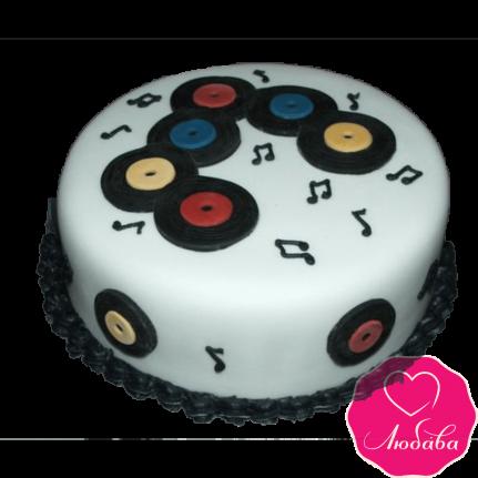 Торт на день рождения для диджея №2363