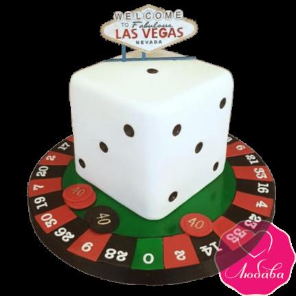 Торт на день рождения казино №2367