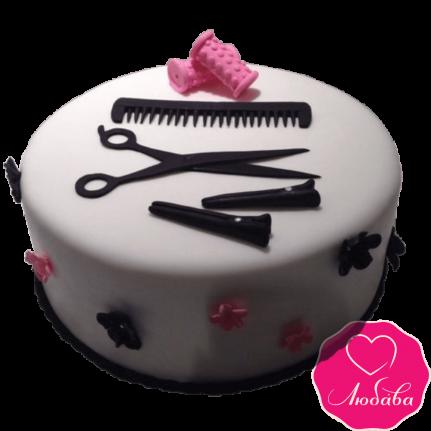 Торт на день рождения для парикмахера №2368