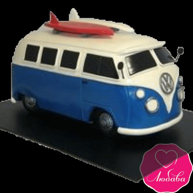 Торт на день рождения автобус №2372