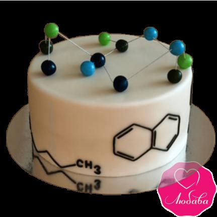 Торт на день рождения химику №2375