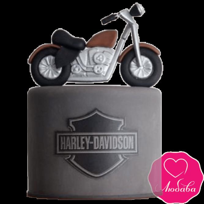 Торт на день рождения мотоциклисту №2376