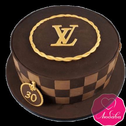 Торт на день рождения Ив-Сен-Лоран №2377