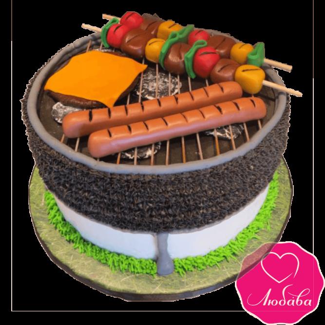 Торт на день рождения пикник №2400