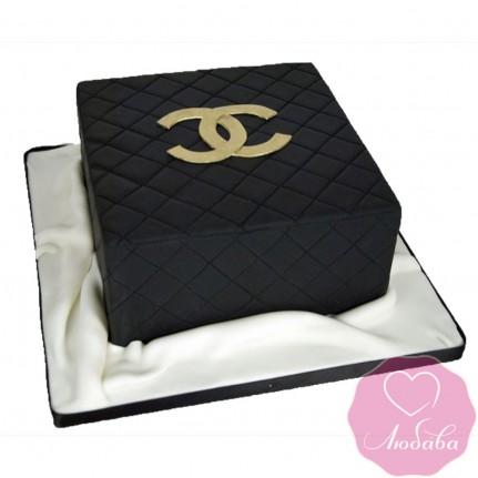 Торт на день рождения шанель №2475