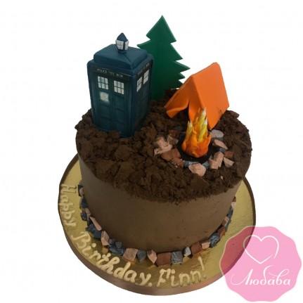 Торт на день рождения туристу №2480