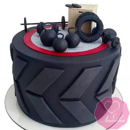 Торт на день рождения силовой экстрим №2527
