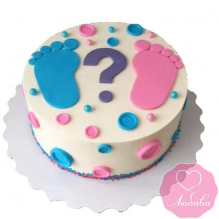 Торт на день рождения для будущей мамы №2590