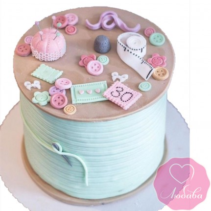 Торт на день рождения швее №2610