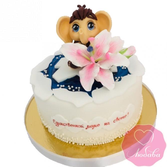 Торт на день рождения маме №2625