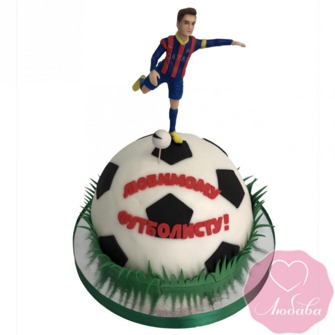 Торт на день рождения футболист №2633