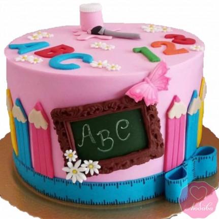 Торт на день рождения учителю рисования №2666