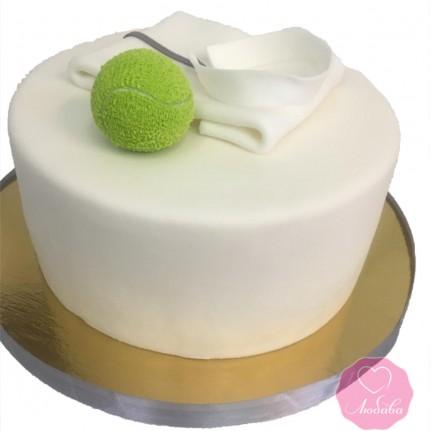 Торт на день рождения теннис №2711