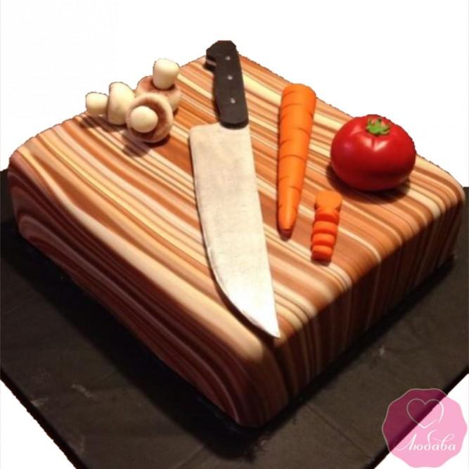 Торт на день рождения повару №2724