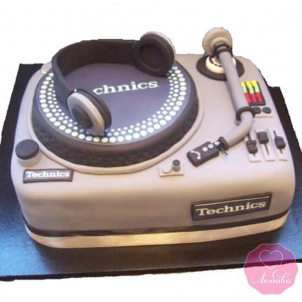 Торт на день рождения диджею №2773