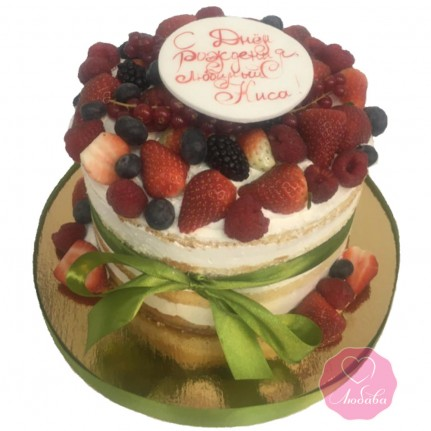 Торт с ягодами №2783