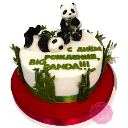 Торт с пандами №2803