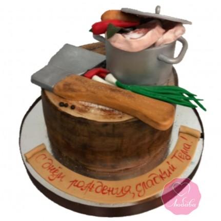 Торт для повара №2811