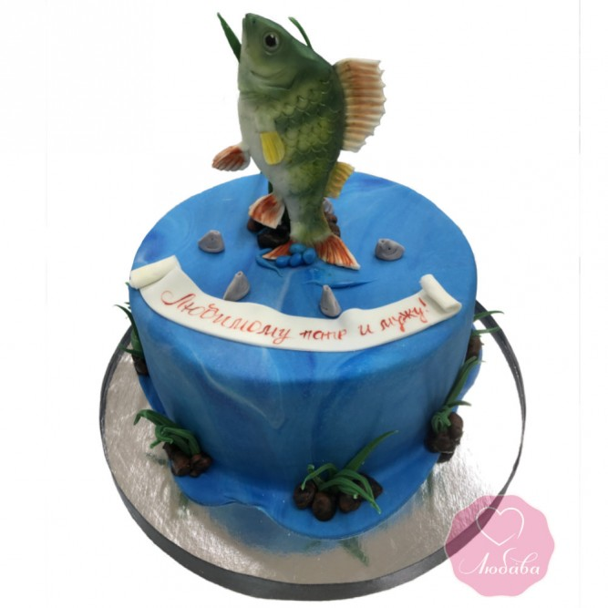 Торт рыбаку №2844