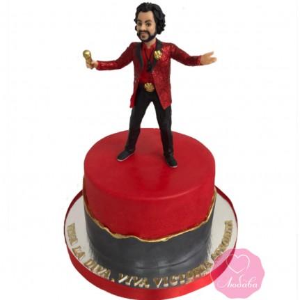 Торт для певца №2865