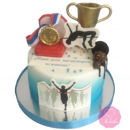 Торт для спортсмена №2866