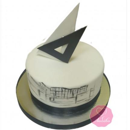 Торт для строителя №2884
