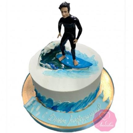 Торт для серфингиста №2887