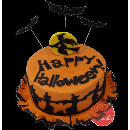 Торт счастливого хэллоуина №1171