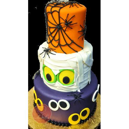 Торт монстр на хэллоуин №1178