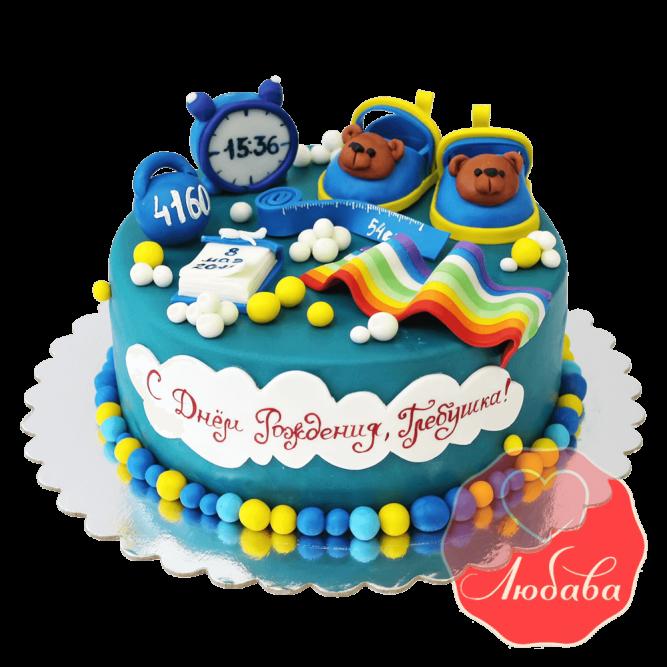 Торт на 1 годик №1220