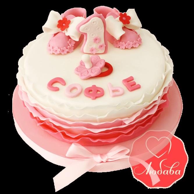 Торт на 1 годик №1233