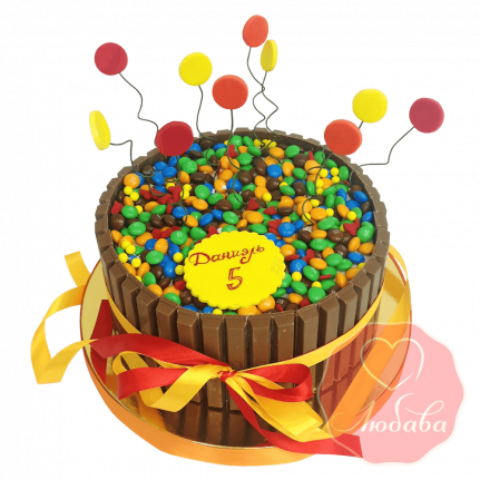 Торт m&m's №1265