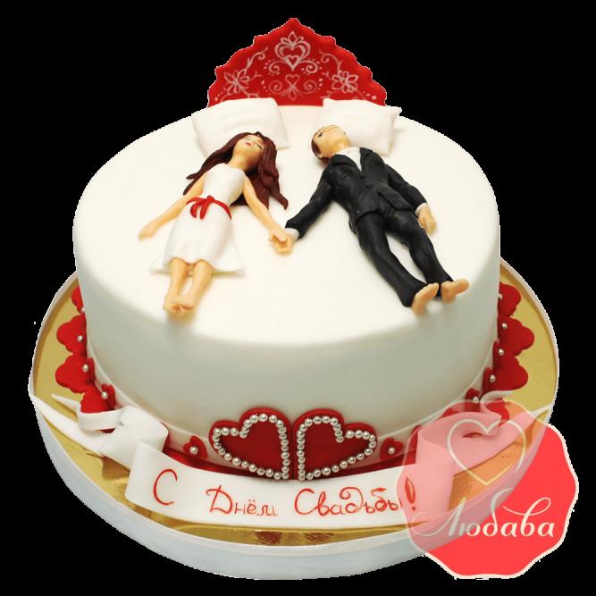 Свадебный Торт с парой №1369