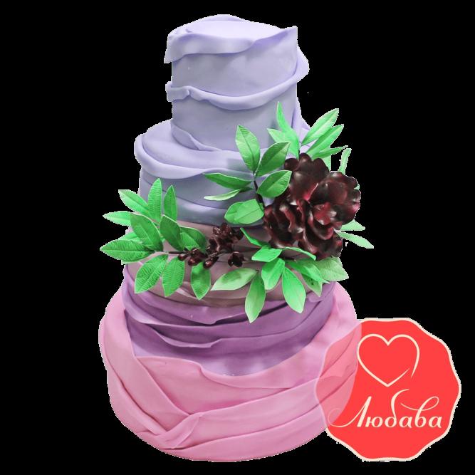 Свадебный Торт оригинальный №1379