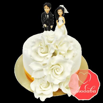 Свадебный Торт с парой №1384