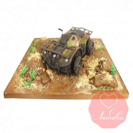 Торт с квадроциклом №1397